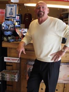 Don Sammons at Buford Trading Post